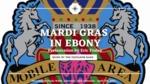 Mardi Gras in Ebony by Eric Finley