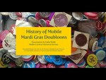 History of Mobile Mardi Gras Doubloons by Eddie Wolfe