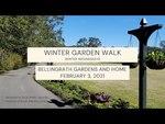 Winter Garden Walk at Bellingrath Gardens and Home