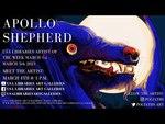 Apollo Shepherd, USA Libraries Art Galleries Artist of the Week