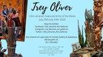 Trey Oliver's Exhibit at Marx Library